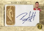 Gold NBA Patches Griffin