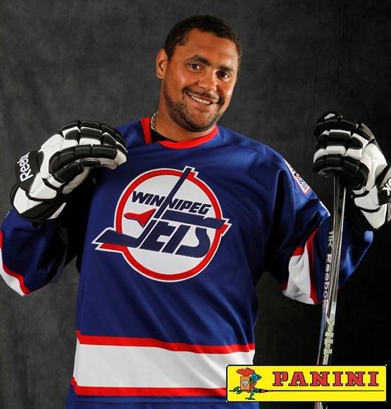 New Duds: NHL Star Dustin Byfuglien Dons Winnipeg Jets