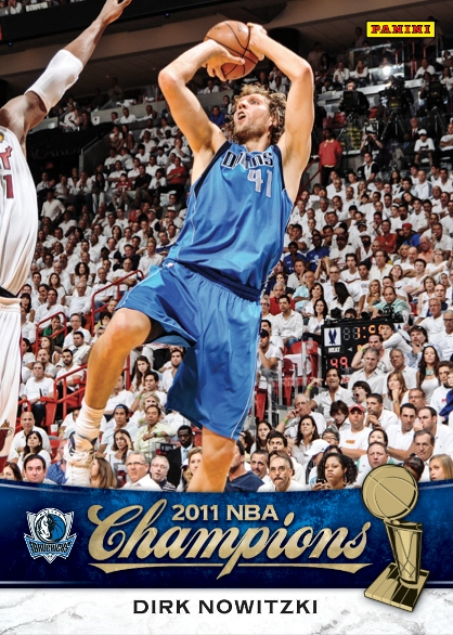 Panini America Honors the NBA Champion Dallas Mavericks with Special Boxed Set | The Knight's Lance
