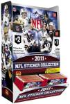 NFL Sticker Combo Display