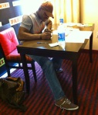 Irvin Signing 2