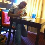 Irvin Signing 6