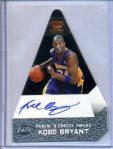 Kobe Bryant 2011-12 Panini Preferred Panini Choice Award Black Auto #1/1 SOLD $3,050