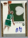 Avery Bradley 2011-12 Panini Preferred Crown Royale Silhouette Prime Swatch Auto #3/3 SOLD $400
