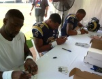 Panini America 2012 NFLPA Premiere Saturday 37