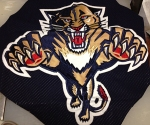 Tomas Vokoun game-worn logo.