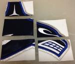 Cory Schneider game-worn logo.