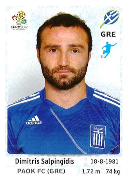 Panini America Launches The Official UEFA Euro 2012    Man Of The