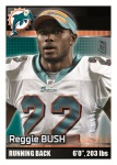 2012 NFL Sticker Bush