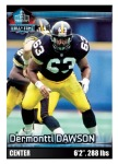 2012 NFL Sticker Dawson