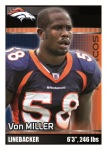 2012 NFL Sticker Miller