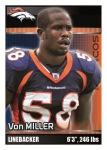 2012 NFL Sticker Miller