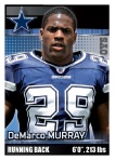 2012 NFL Sticker Murray