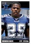 2012 NFL Sticker Murray