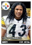 2012 NFL Sticker Polamalu