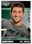 2012 NFL Sticker Tebow