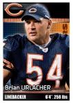 2012 NFL Sticker Urlacher