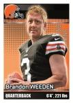 2012 NFL Sticker Weeden