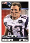 2012 NFL Sticker Welker