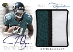 2012 Prime Signatures Football Blackmon