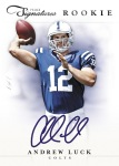 2012 Prime Signatures Football Luck