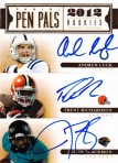 2012 Prime Signatures Football Pen Pals