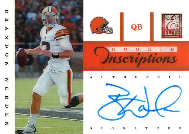Elite Inscriptions Weeden Blue