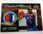 Panini America 11-12 Limited Basketball Mem 17