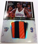 Panini America 11-12 Limited Basketball Mem 31