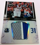 Panini America 11-12 Limited Basketball Mem 34