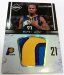 Panini America 11-12 Limited Basketball Mem 35
