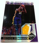 Panini America 11-12 Limited Basketball Mem 49