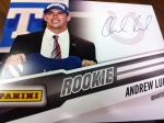 Panini America National Instant-Win Auto 16
