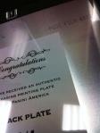 Panini America National Printing Plates 14