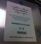 Panini America National Printing Plates 2