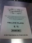 Panini America National Printing Plates 4