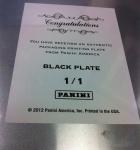 Panini America National Printing Plates 6