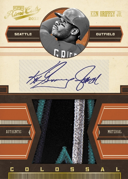 2012 Prime Cuts Colossal_Griffey