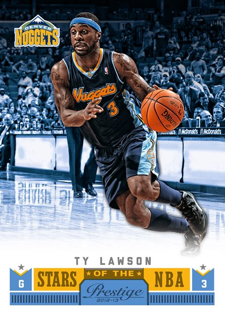 Panini America 12-13 Prestige Stars of the NBA 21