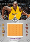 Panini America 2012-13 Limited Basketball Home Away Kobe