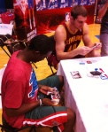Doron Lamb and Tyler Zeller
