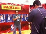 "Panini America VP of Marketing Jason Howarth during his interview with ESPN's ""Mint Condition."""