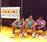 Boston duo Fab Melo and Jared Sullinger.
