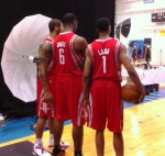 Houston's Future: Royce White, Terrence Jones & Jeremy Lamb.