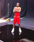 Terrence Ross and his serious side.