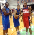 Jae Crowder, Jared Cunningham and Bradley Beal