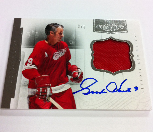 Panini America 2011-12 Dominion Hockey Gordie Howe 2