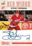 Panini America 2012-13 Classics Signatures Hockey Yzerman