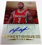 Panini America 2012-13 Prestige Basketball QC 13