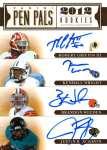 Panini America 2012 Prime Signatures Pen Pals 7